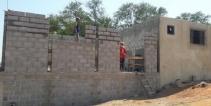 Construção de 4 salas, Refeitório e um Barracão