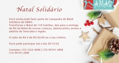 Natal Solidário!